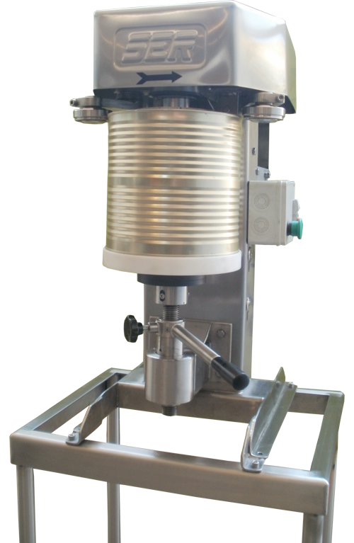 Semi-Automatic Round Can Stainless Seaming Machine